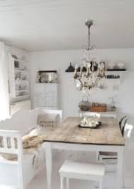 shabby chic kitchen furniture rustic wooden table and stylish unfinished wood chairs for