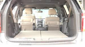 Ford Explorer Trunk Space - the incredible ford explorer automatic folding seats youtube