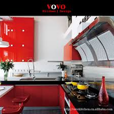 Online Get Cheap Red Lacquer Kitchen Cabinets Aliexpresscom - Red lacquer kitchen cabinets