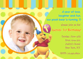 baby 1st birthday invites ideas first birthday invitation