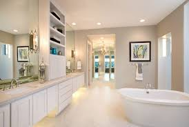 Mediterranean Wall Sconces Kelly Moore Bathroom Contemporary With White Cabinets Contemporary