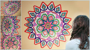 diy mandala zentangle wall mural doodle art for your room diy mandala zentangle wall mural doodle art for your room diyvisual com