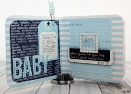 baby boy photo album baby boy mini album pebbles inc
