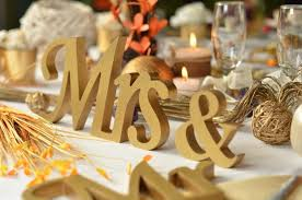 mr mrs wedding table decorations gold glitter mr mrs letters wedding table decoration