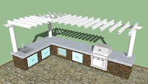 Kitchen Blueprints Download Outdoor Kitchen Blueprints Garden Design