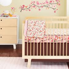Modern Baby Crib Sheets by Cherry Blossom Baby Bedding Cherry Blossom Crib Bedding Carousel