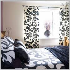 Black And White Damask Curtain Black And White Damask Panel Curtains Curtains Home Design