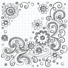easy drawing flower designs cool and easy flowers to draw cool