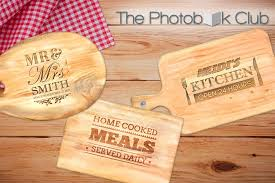 personalised cutting boards scoopon customised acacia wood cheese cutting board delivered