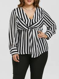 plus size white blouses blouses black white 3xl plus size empire waist zebra striped