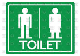 Man Woman Bathroom Symbol Toilet Symbol For Man And Woman Sign Of Restroom Vector Clipart