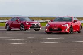lexus 350 rc for sale in australia which to choose toyota 86 vs lexus rc350 practical motoring