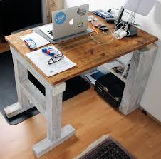 Holz Schreibtisch Recycling Schreibtisch Meinekleinewohnung De