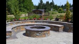 Firepit In Backyard Backyard Pit Ideas Landscaping Metal Photos
