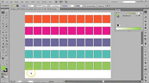 Color Palette Pantone Cmyk Palette From Pantone Swatches In Adobe Illustrator Youtube