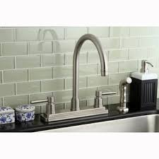 Satin Nickel Kitchen Faucet Templeton Satin Nickel Pullout Kitchen Faucet Free Shipping