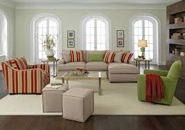 Striped Living Room Chair Living Room Funky Living Room Decoration With Gray Sofa And