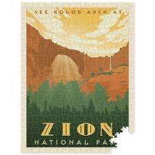 quotes zion national park 500 pc puzzle zion national park u2013 anderson design group
