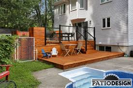 Patio Design Pictures Patio Design Construction Design Of Treated Wood Patios