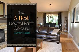 the best neutral beige and tan paint colours by sherwin williams