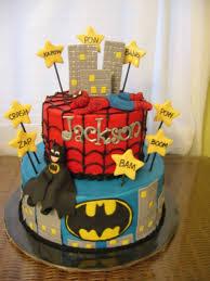 batman spiderman cake cakecentral com