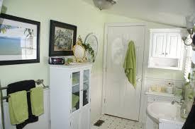 black and white bathroom wall decor white laminated wooden base