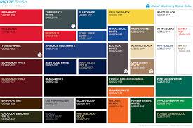 ultragrave color palette 1 of 2 matte finish 0625