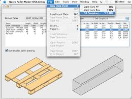 quick pallet maker examples packaging software