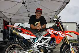 next motocross race billy laninovich to race for aprilia in mxgps