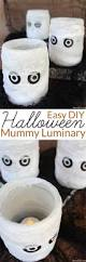 Home Made Halloween Decoration by Mummy Luminary Easy Homemade Halloween Decoration Homemade