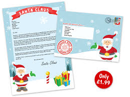 letters from santa claus personalised letters from santa claus for your child or loved one
