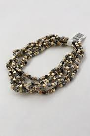 bead bracelet set images Simple elegance seed bead bracelet set hematite groovy 39 s jpg