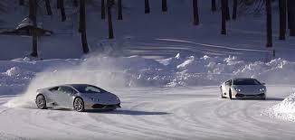 Lamborghini Murcielago Drift Car - huracans pulling drift battles at lamborghini u0027s winter academy