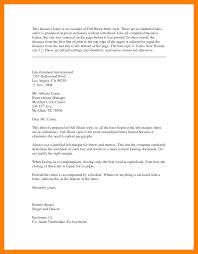 standard block letter format gallery letter samples format