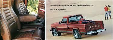 jeep j truck jeep gladiator and j series