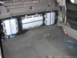 nissan titan fuel pump eat sleep tinker custom nissan titan amplifier install