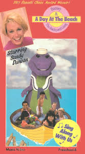 Luci Barney And Friends Wiki by Image A Day At The Beach Original Cover Jpg Barney Wiki