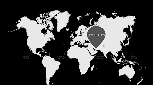 Seychelles Map Kizzler Relax Recharge Refocus
