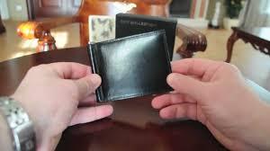 Money Clip Wallet Id Window Coti Collection Money Clip Wallet Model Gene Youtube