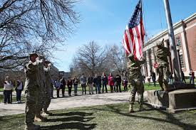 Iowa Hawkeyes Flag U S Joined The U0027great War U0027 100 Years Ago And Coe U0027s Rotc