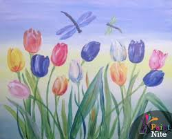 spring painting ideas pictures easy spring paintings drawings art gallery