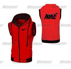 Jual Jaket Nike jual jaket nike hoodie zipper vest rompi merah ukuran s m l xl murah