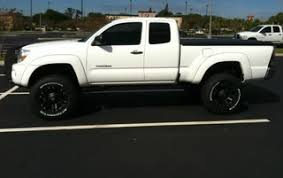 toyota tacoma rancho lift wheels tires and prg lift pics nissan frontier forum