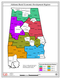 Map Of Alabama Counties Rural Alabama Economic Development Gets New Push With Team