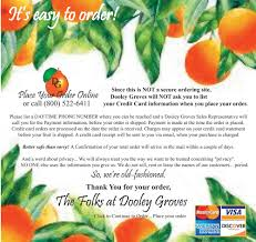 fruit gifts by mail dooley groves inc order florida citrus fruit gifts from dooley