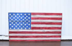 Pallet American Flag The Funky Monkey June 2017