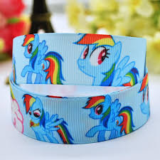 my pony ribbon 7 8 22mm my pony printed grosgrain ribbon party