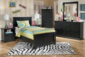 Twin Bedroom Furniture Sets For Adults Maribel Black Twin Bed
