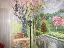 Dining Room Murals Hand Made Kitchen Dining Room Mural Floor To Ceiling By Murals By