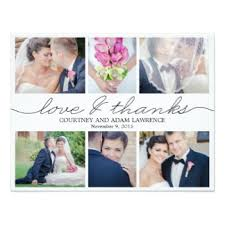 wedding thank you cards wedding thank you invitations announcements zazzle